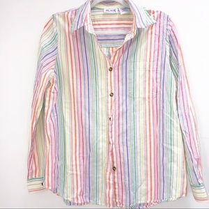 Vintage Blair vertical striped top